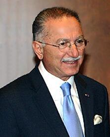 Ekmeleddin Ihsanoglu, l'actuel secrétaire général de l'Organisation de coopération islamique.