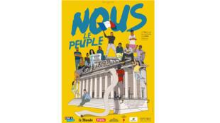 Affiche du film «Nous le peuple», de Claudine Bories et Patrice Chagnard.