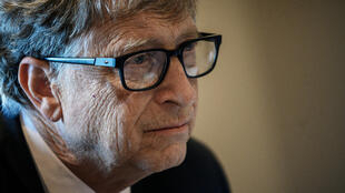 Bill Gates, fundador de Microsoft y copresidente de la Fundación Bill y Melinda Gates, el 9 de octubre de 2019 en Lyon, Francia