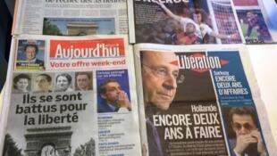Diários franceses 08/05/2015