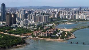 Thủ phủ Hải Khẩu của tỉnh Hải Nam, Trung Quốc. Ảnh chụp ngày 06/05/2018.