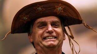 Jair Bolsonaro en Rio de Janeiro el 11 octubre 2018.