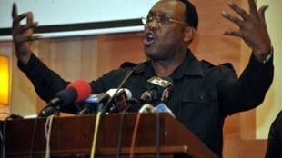 Kiongozi wa chama kikuu cha upinzani nchini Tanzania CHADEMA Freeman Mbowe