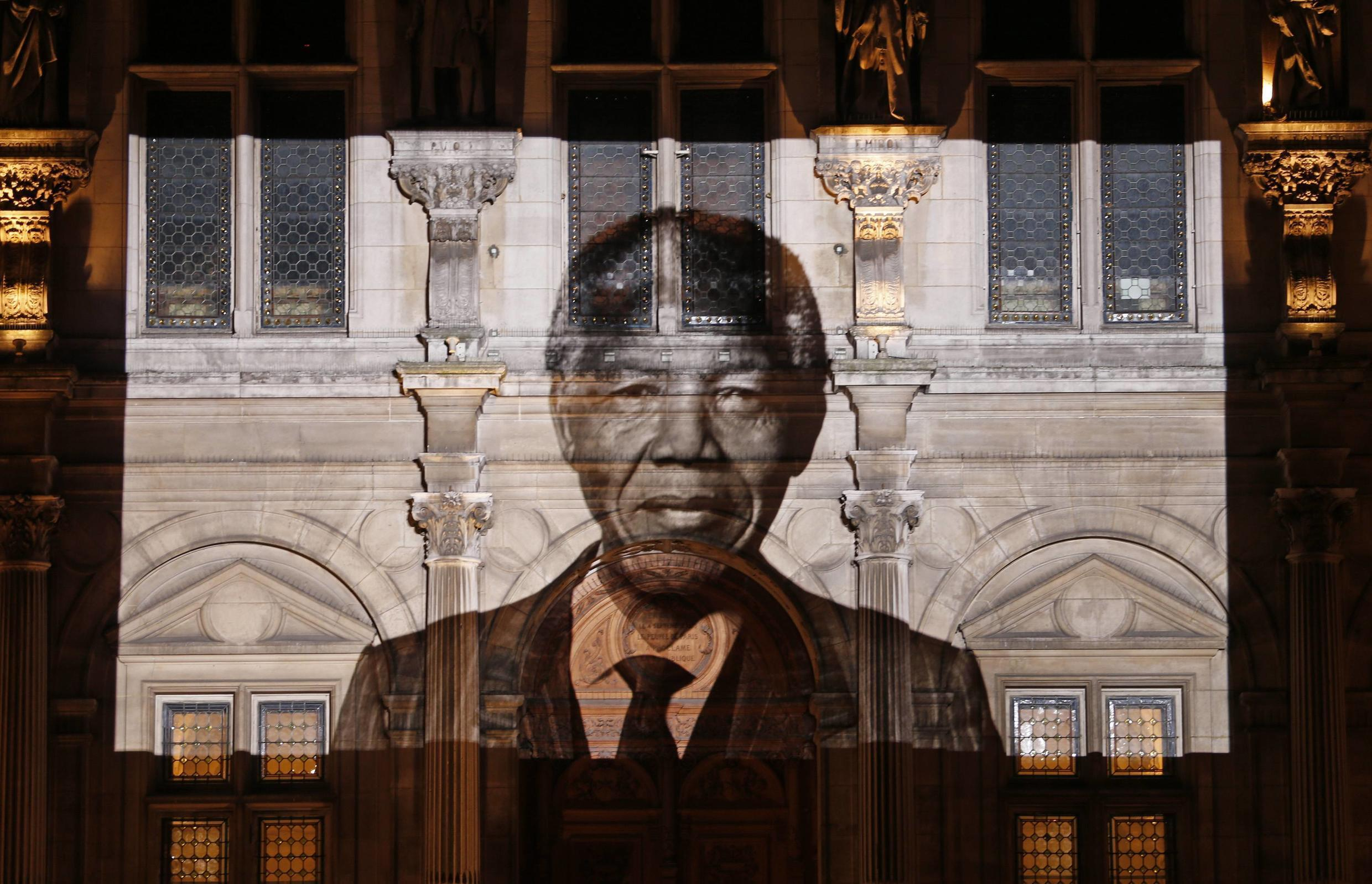 Nelson Mandela emerged from more than 25 years of prison to become South Africa's first black president.