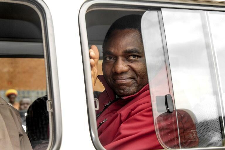 Jagoran yan Adawa a Zambia Hakainde Hichilema d