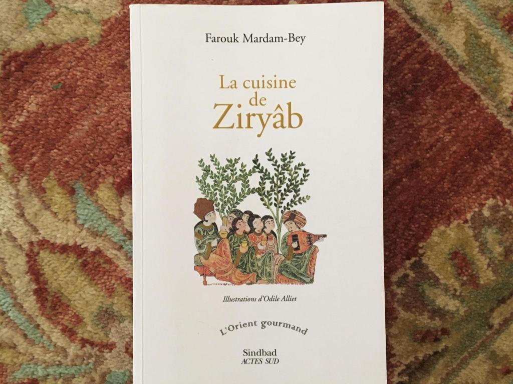 """La cuisine de Ziryâb"", de Farouk Mardam-Bey. Editions Actes Sud."