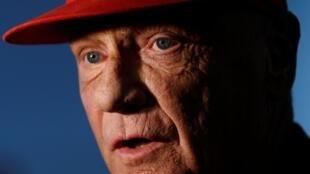 Niki Lauda, tricampeão mundial de Fórmula 1.