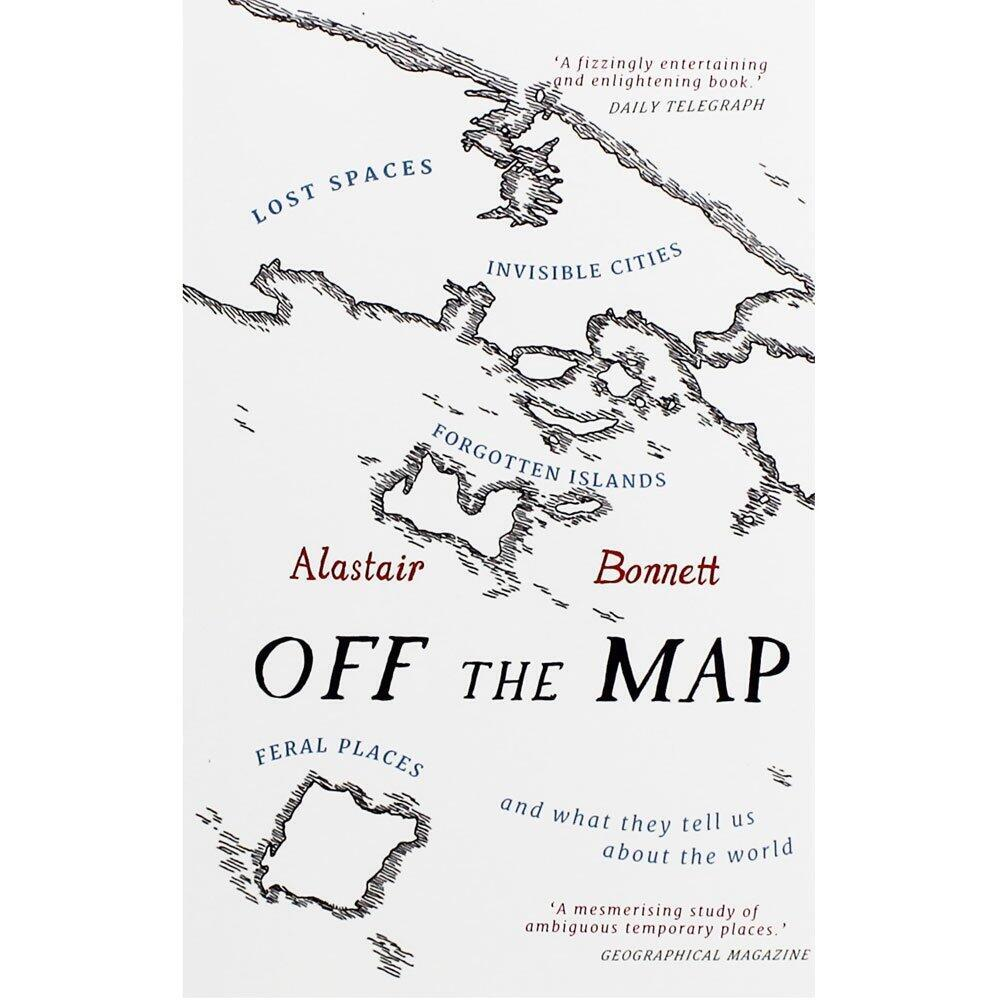 La première de couverture de «Off the Map» d'Alastair Bonnett.