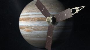 A sonda Juno vai levar 5 anos para chegar em Júpiter.
