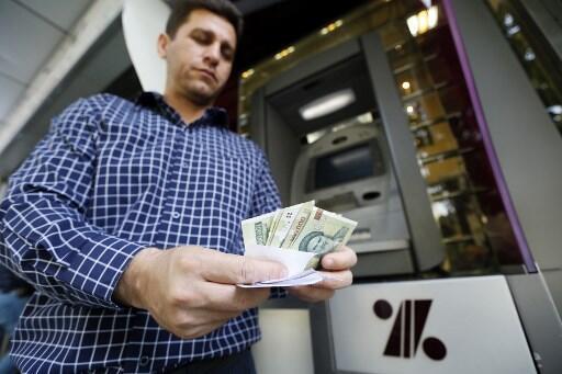 Đồng rial của Iran liên tục rớt giá trước các lệnh trừng phạt kinh tế của Mỹ.
