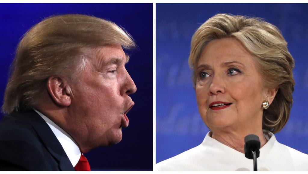 A difereça entre Trump e Hillary diminui, a uma semana das eleições