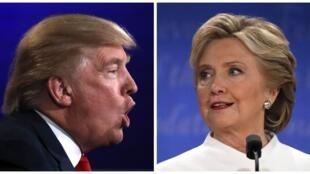 Trump-Clinton, hombro a hombro a pocos días de la elección.