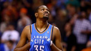 Le basketteur NBA Kevin Durant.