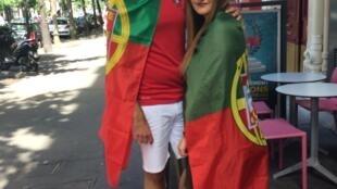 Adeptos portugueses vieram de longe para estar em Paris na final do Euro'2016