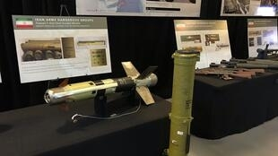 پیشتر برخی سلاحهای ساخت ایران که در یمن به دست آمده و توسط آمریکا در یک پایگاه نظامی در واشنگتن به نمایش گذاشته شد