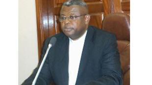 L'abbé Donatien Nsholé, 1er secrétaire général adjoint de la Commission épiscopale nationale du Congo (Cenco).