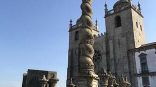 Sé catedral do Porto, etapa do Caminho português de Santiago de Compostela.