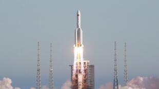 中國長征五號B運載火箭資料圖片