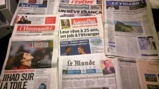 Diários franceses 21.11.2014