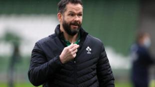 Ireland coach Andy Farrell