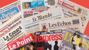 Les journaux français.