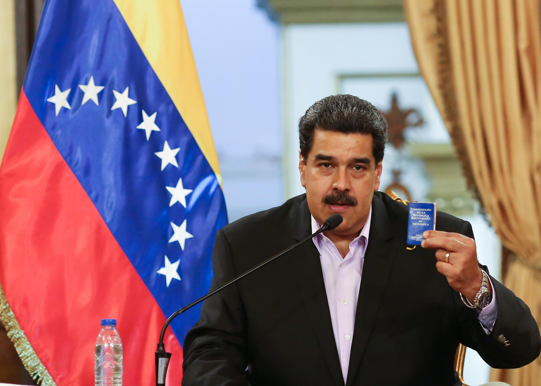 Rais wa Venezuela Nicolas Maduro