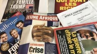 Capas de magazines news franceses de 01 de julho de 2017