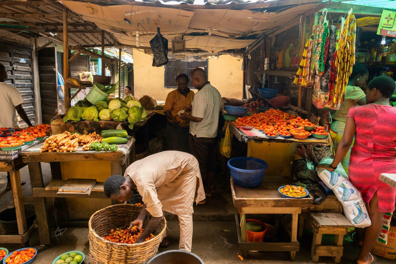 El mercado de Illaje, en Bariga, Lagos, en Nigeria, el 29 de junio de 2021