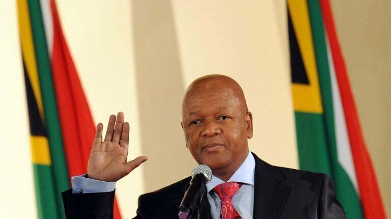 Jeff Radebe, le ministre de la Justice sud-africain, en mai 2009.