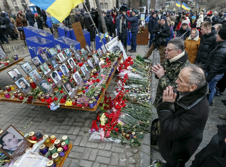 Вторая годовщина Майдана, 20 февраля 2016 год