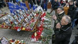 Parmi les prisonniers qui devraient être livrés à la Russie figurent vraisemblablement des responsables de la répression sanglante du Maïdan (image d'illustration).