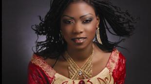 La chanteuse malienne Sira Kouyaté.
