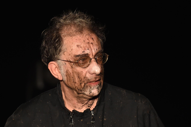 Джиорджио Пупелла в спектакле «Убю» труппы Pupella-Noguès