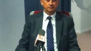Juan Manuel Gómez Robledo, el subsecretario para Asuntos Multilaterales y Derechos Humanos de México, en los estudios de RFI.