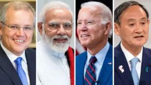 美日印澳領導人資料圖片