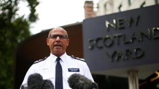 «Je ne peux simplement pas offrir de garantie» concernant la sécurité du public, a dit le chef de l'antiterrorisme Neil Basu lors d'un point presse à Londres, ce lundi 9 juillet.