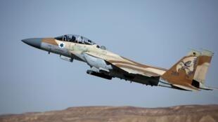 یک جنگنده نیروی هوایی اسرائیل