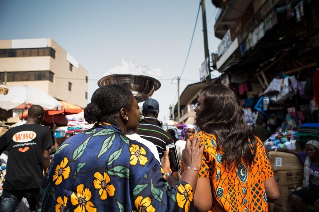 Le marché de Makola à Accra au Ghana. (Photo d'illustration)