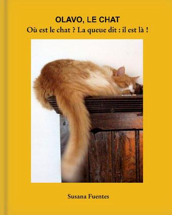 """Susana Fuentes lançou recentemente em Paris seu novo livro """"Olavo, le Chat""""."""