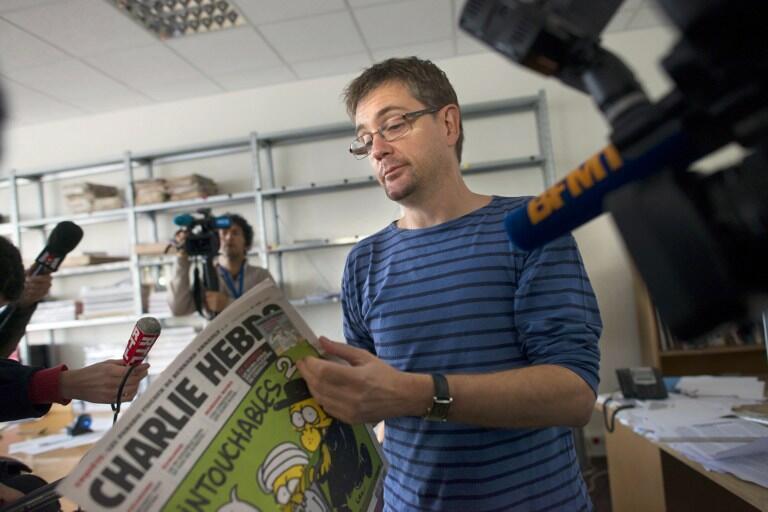 Giám đốc xuất bản tuần báo trào phúng Charlie Hebdo, người chịu trách nhiệm về số báo gây tranh cãi về tự do ngôn luận ra ngày  19/9/2012,