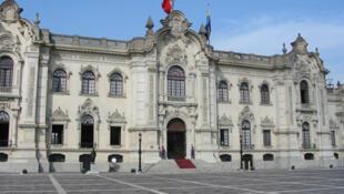 El Palacio de Gobierno de Perú.