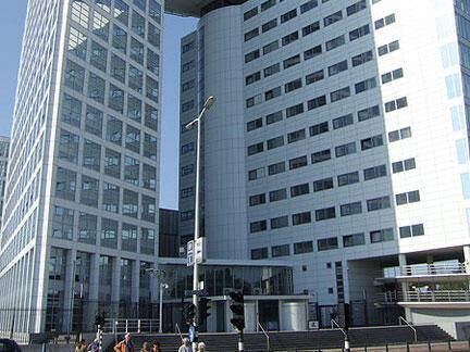 La sede de la Corte Penal Internacional en La Haya (Holanda).Pays-Bas.