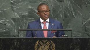 Umaro Sissoco Embaló, Primeiro-ministro da Guiné-Bissau. 21 de Setembro de 2017.