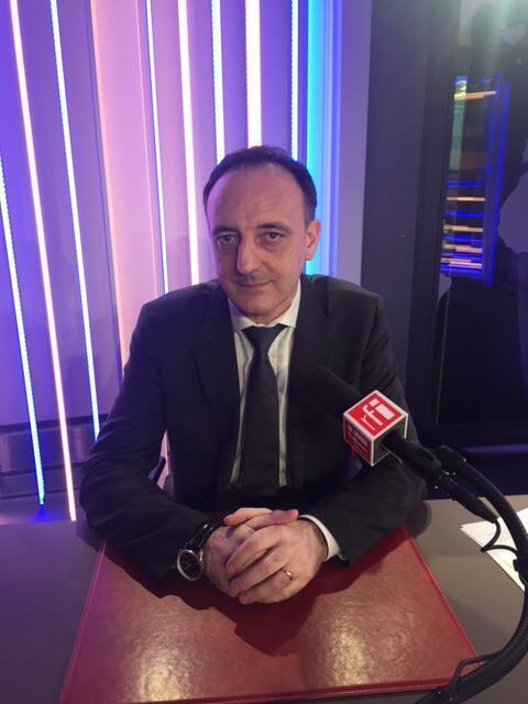 Christophe Molmy, chef de la BRI et écrivain.