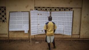 Libreville, le 27 août 2016. La journée de vote s'est déroulée sans incident majeur.
