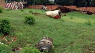 A plane carrying President Juvenal Habyarimana, from Rwanda's Hutu majority, was shot down in Kigali on April 6, 1994