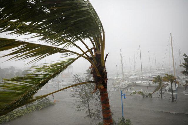 颶风艾尔玛吹袭美国佛罗里达州。2017-09-10