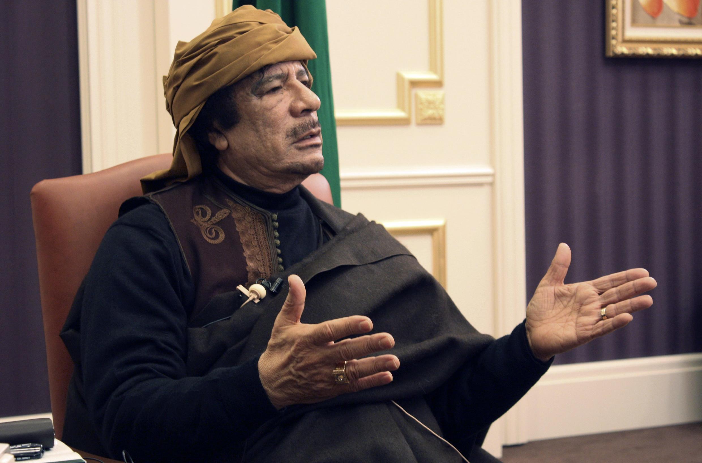 Marigayi tsohon shugaban Libya Moammar Kadhafi