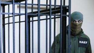 Сотрудник Национального антикоррупционного бюро Украины