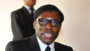 Teodorin Nguema Obiang, le fils du président équato-guinéen, en 2012.